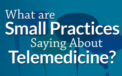 What Are Small Practices Saying About Telemedicine?