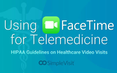 Using FaceTime for Telemedicine