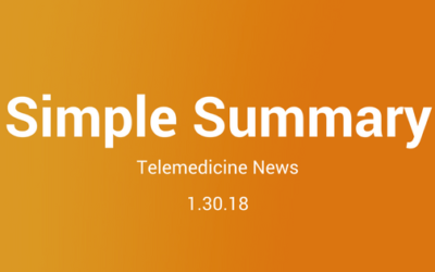 Simple Summary: Telemedicine News