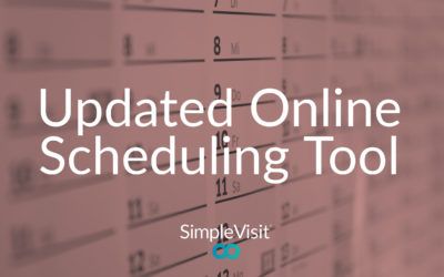 [Feature Update] SimpleVisit Online Schedule