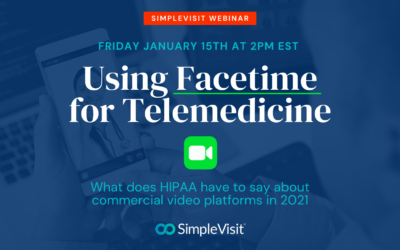 Using FaceTime for Telemedicine in 2021
