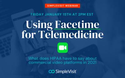Using FaceTime for Telemedicine in 2021
